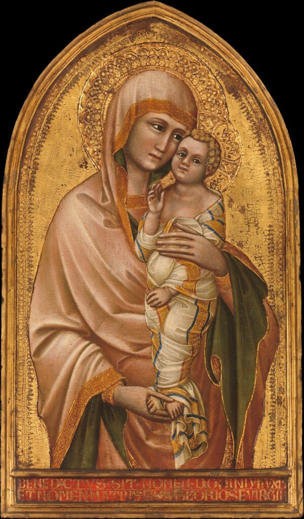 Guariento – Madonna con il Bambino, New York, The Metropolitan Museum of Art, settimo decennio del XIV secolo. 2