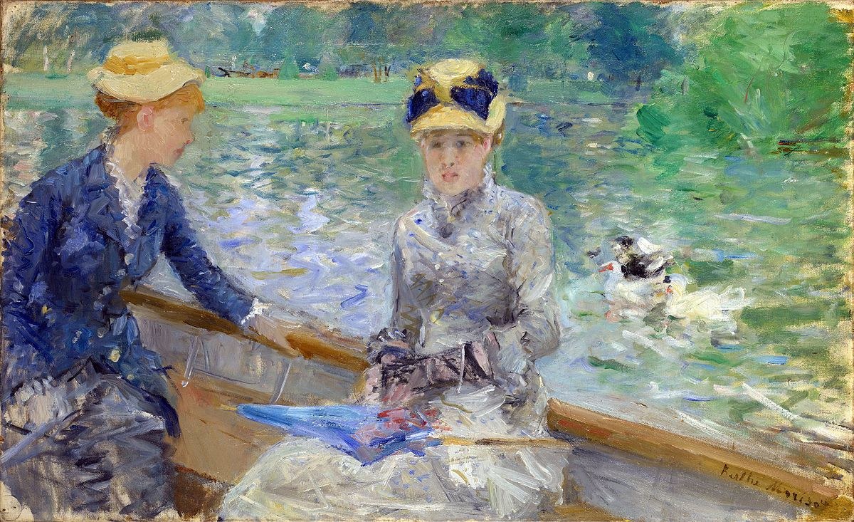 Berthe Morisot, Giorno d'estate, 1879. Londra, National Gallery.